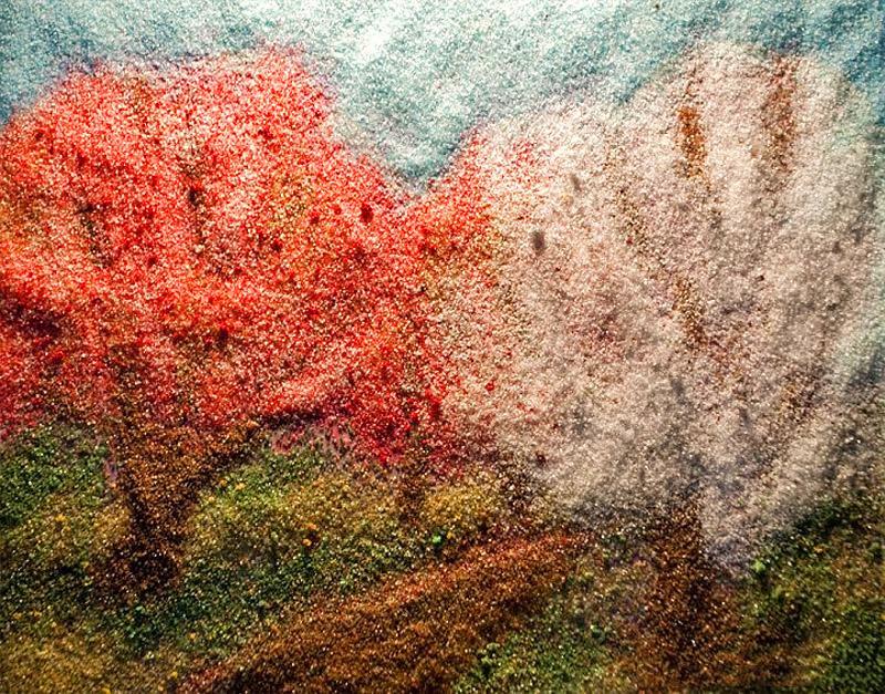 12000000 Картины из соли и специй