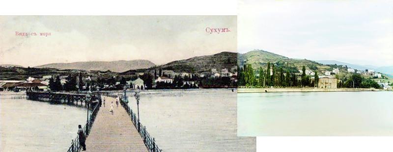 12155 Абхазия на цветных снимках Прокудина Горского 1904 и 1912 гг.