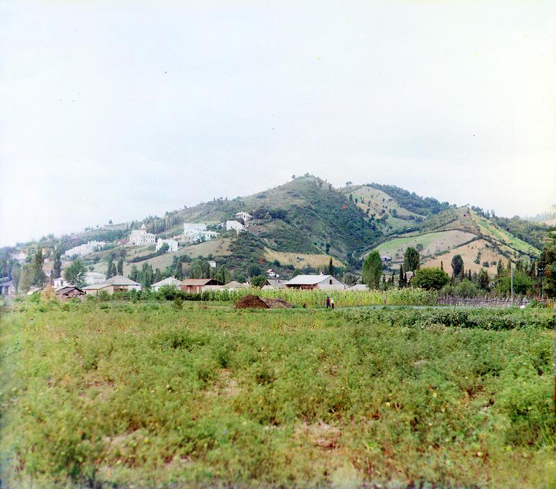 13139 Абхазия на цветных снимках Прокудина Горского 1904 и 1912 гг.