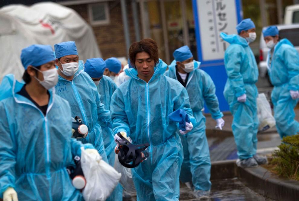 АЭС Фукусима — зонариска