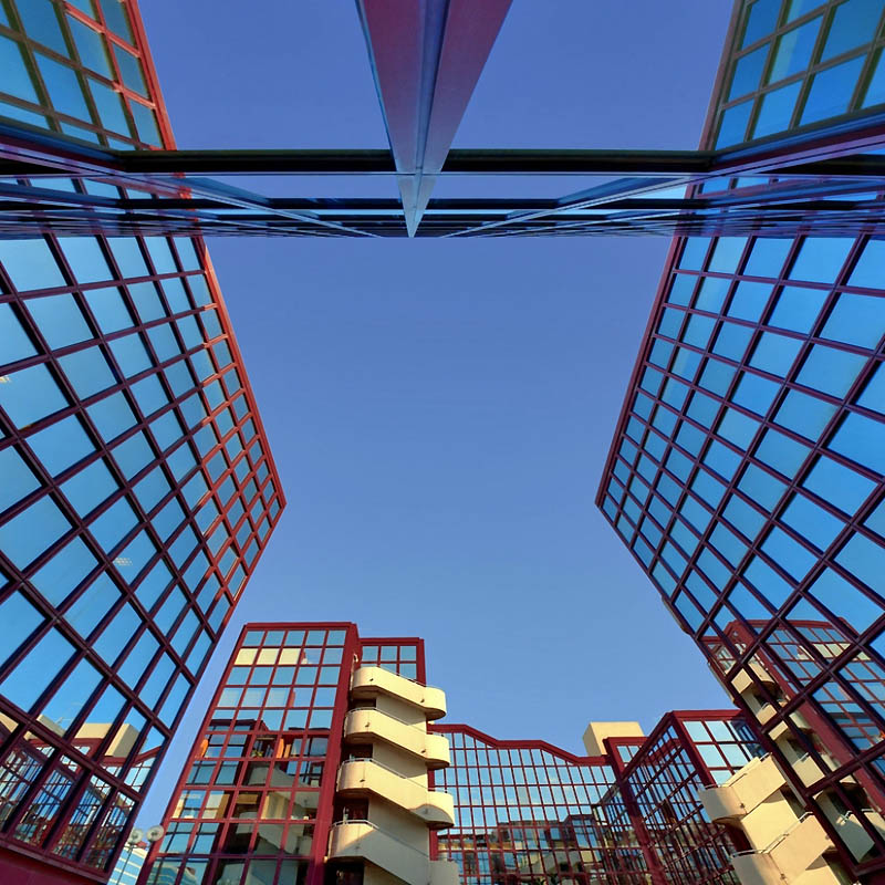 14120 Небо в архитектурной рамке