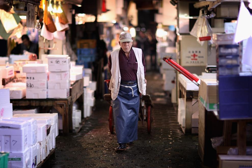 14129 Рыбный рынок Цукидзи