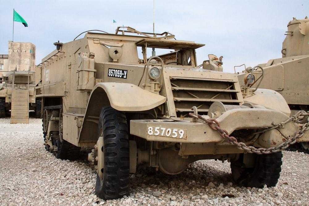 14141 Музей танковых войск в Израиле