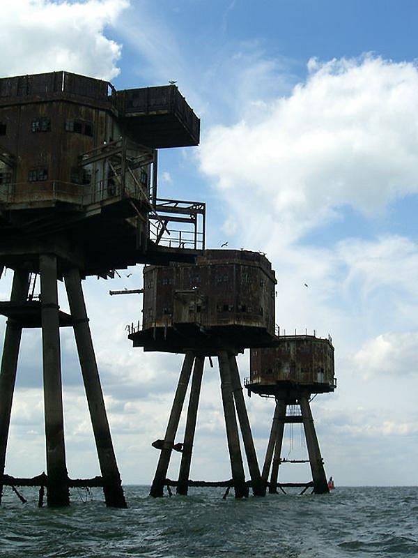 1492 Британские морские форты