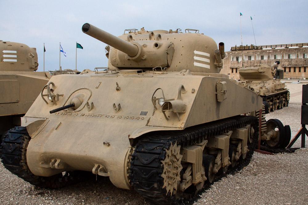 15138 Музей танковых войск в Израиле