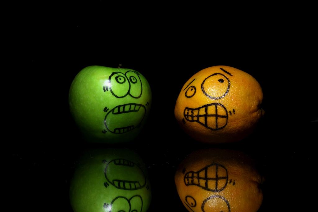 1544 Смешные фрукты