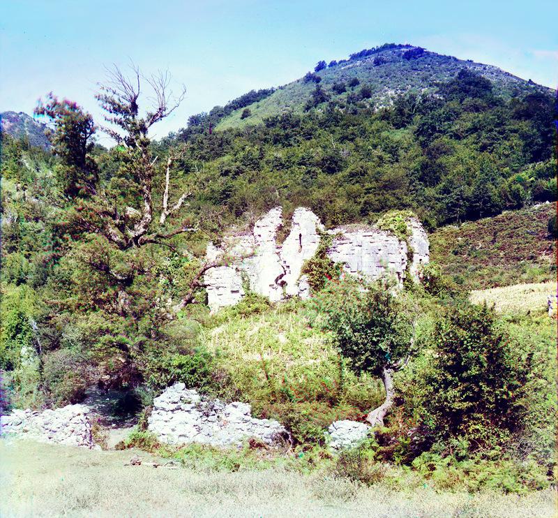 16117 Абхазия на цветных снимках Прокудина Горского 1904 и 1912 гг.