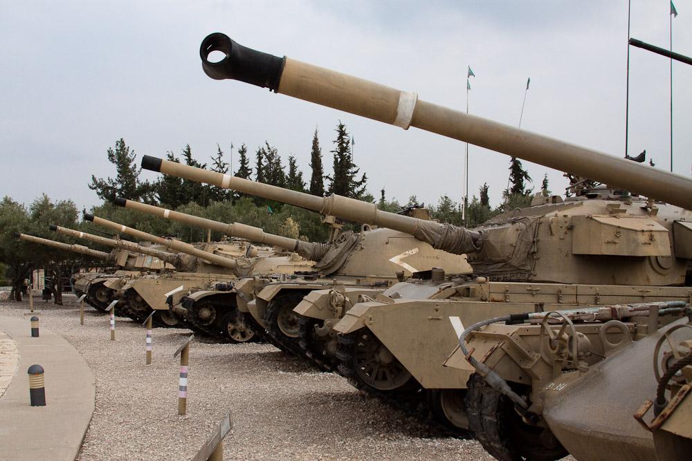 16126 Музей танковых войск в Израиле
