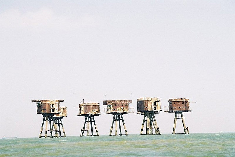 1681 Британские морские форты
