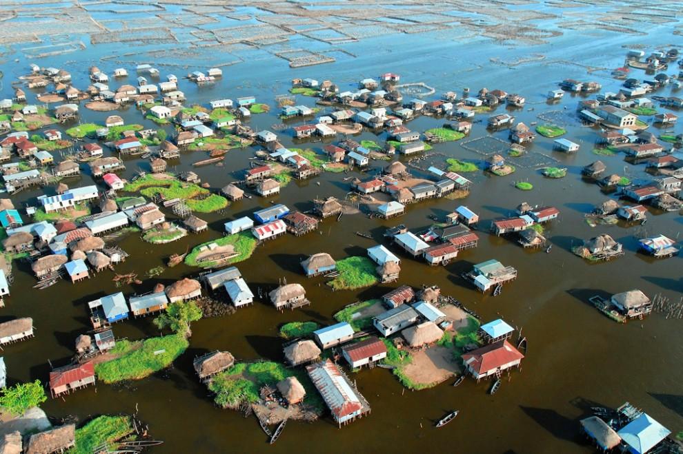 170 990x659 Африканская Венеция: Город озеро Ганвье