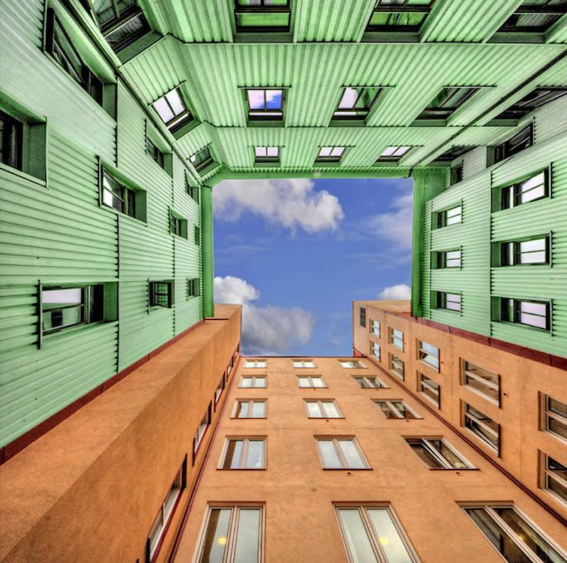 17101 Небо в архитектурной рамке