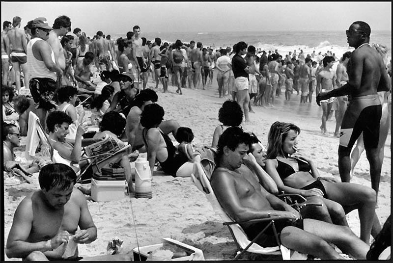 Фотограф Джозеф Шабо сначала 70-х годов снимал жителей Нью-Йорка...