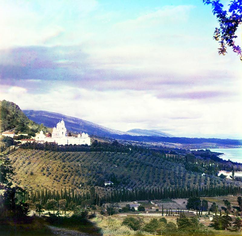 1800 Абхазия на цветных снимках Прокудина Горского 1904 и 1912 гг.