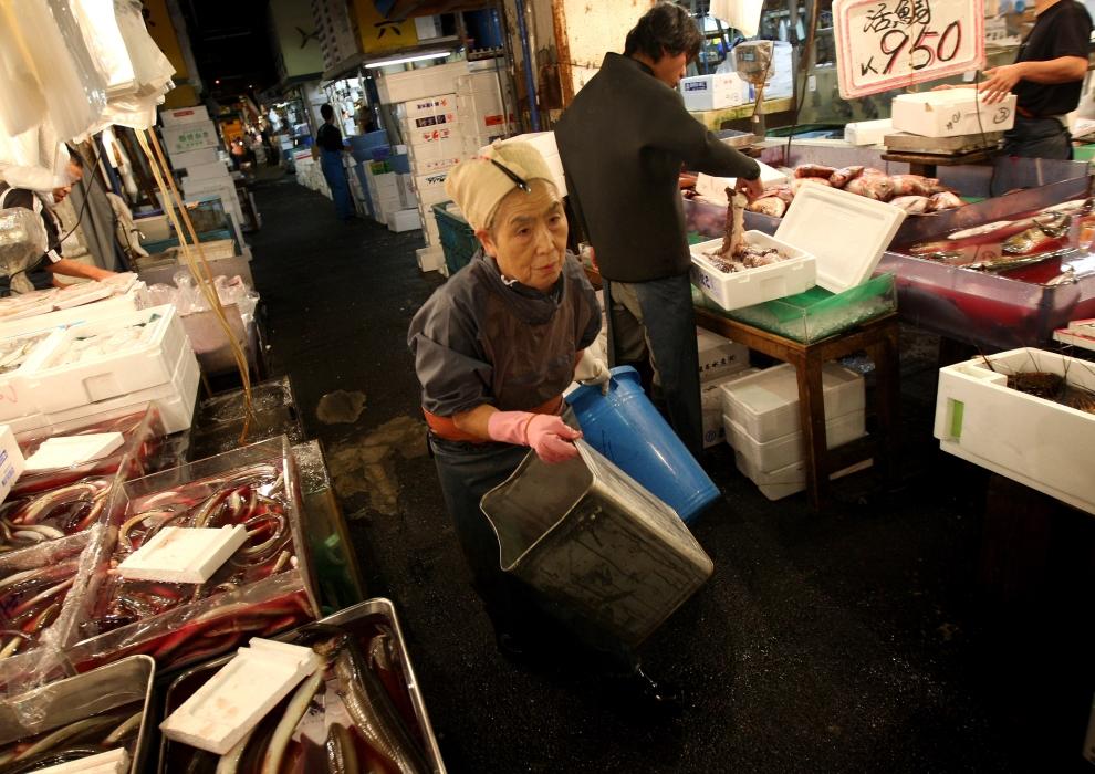 18104 Рыбный рынок Цукидзи