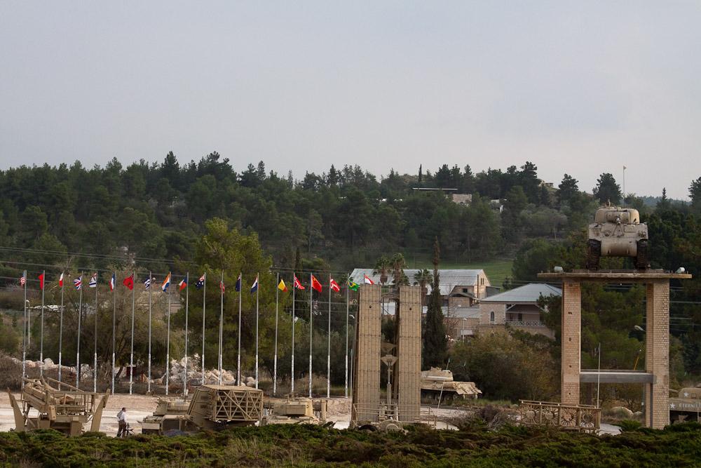 18113 Музей танковых войск в Израиле