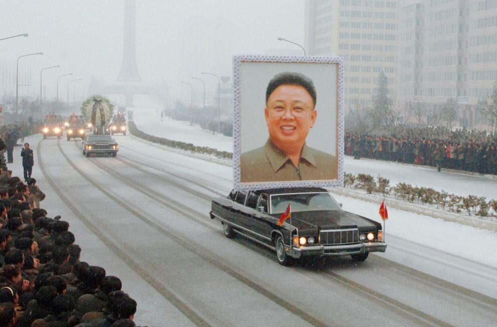 Северная Корея простилась с Ким ЧенИром