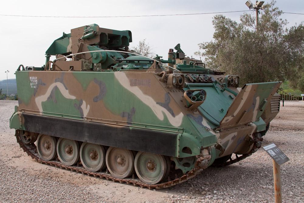 1998 Музей танковых войск в Израиле