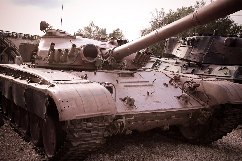2097 Музей танковых войск в Израиле