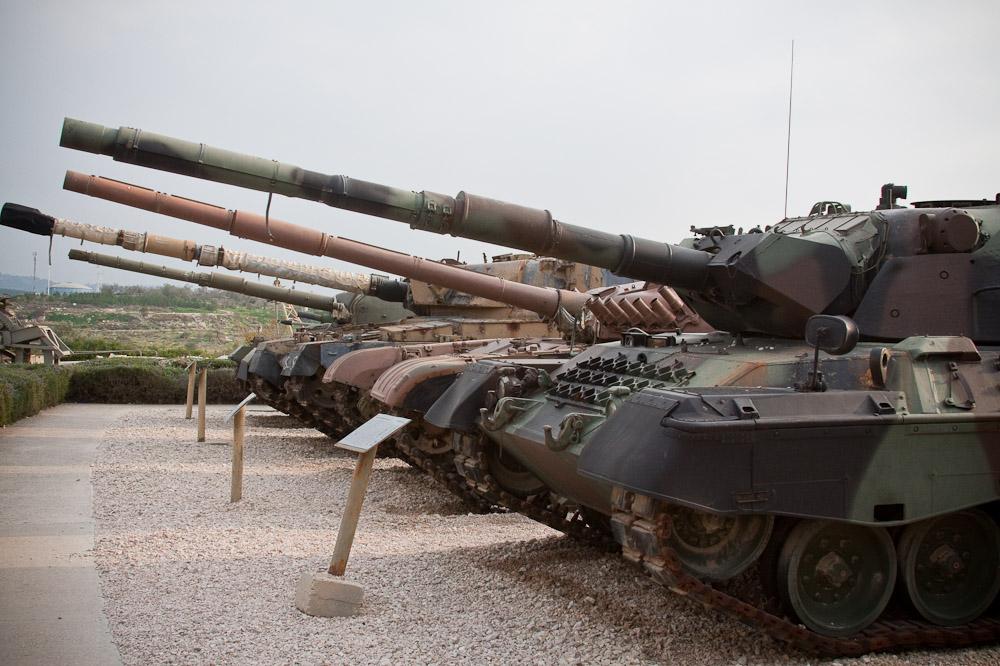 21148 Музей танковых войск в Израиле