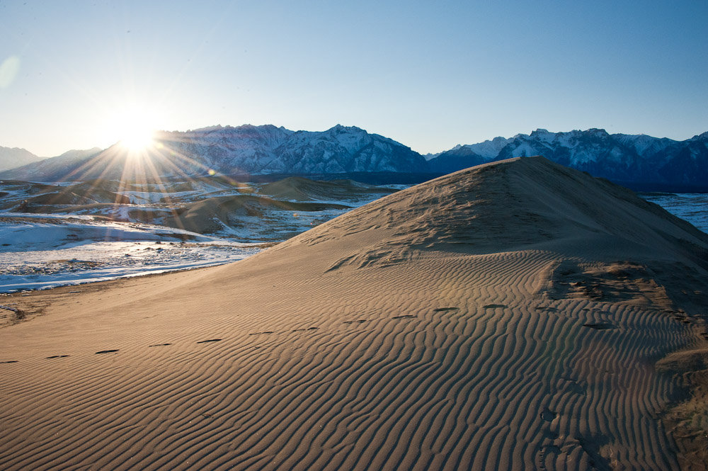 2141 Чарские пески: холодная Сахара Забайкалья