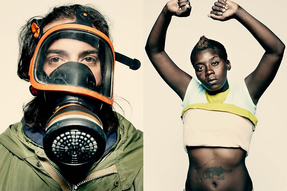 2203 Демонстранты со всего мира от фотографа Time Питера Хайпака