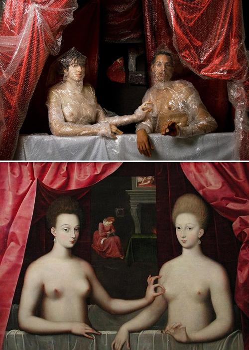 2295 Ремейки знаменитых произведений искусства