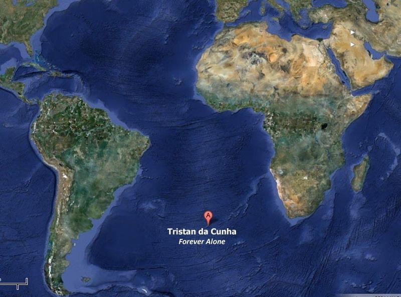 2308 Остров Тристан да Кунья: Жизнь в центре океана