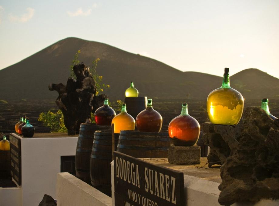 2336 Вулканические виноградники острова Лансароте
