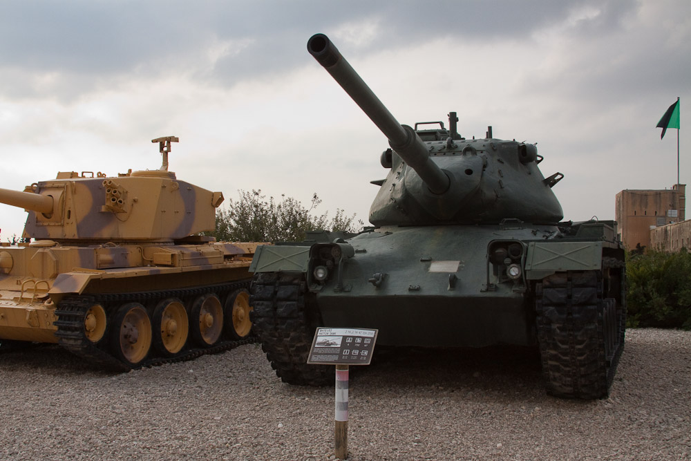2573 Музей танковых войск в Израиле