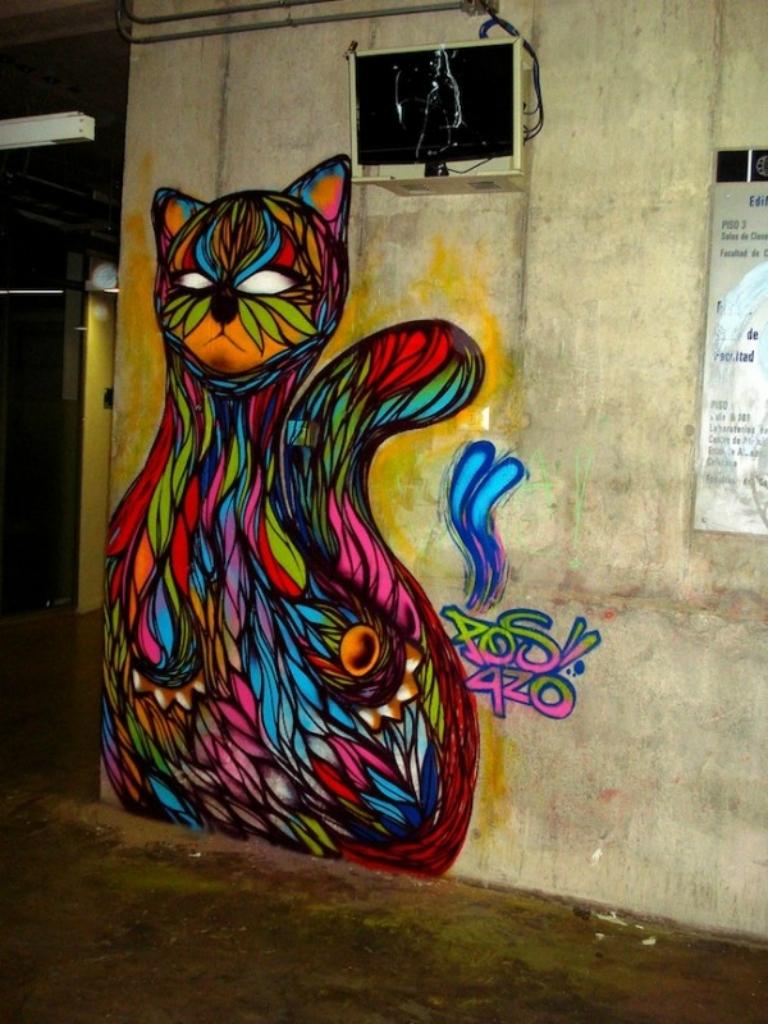 2644 50 лучших работ в жанре стрит арта 2011