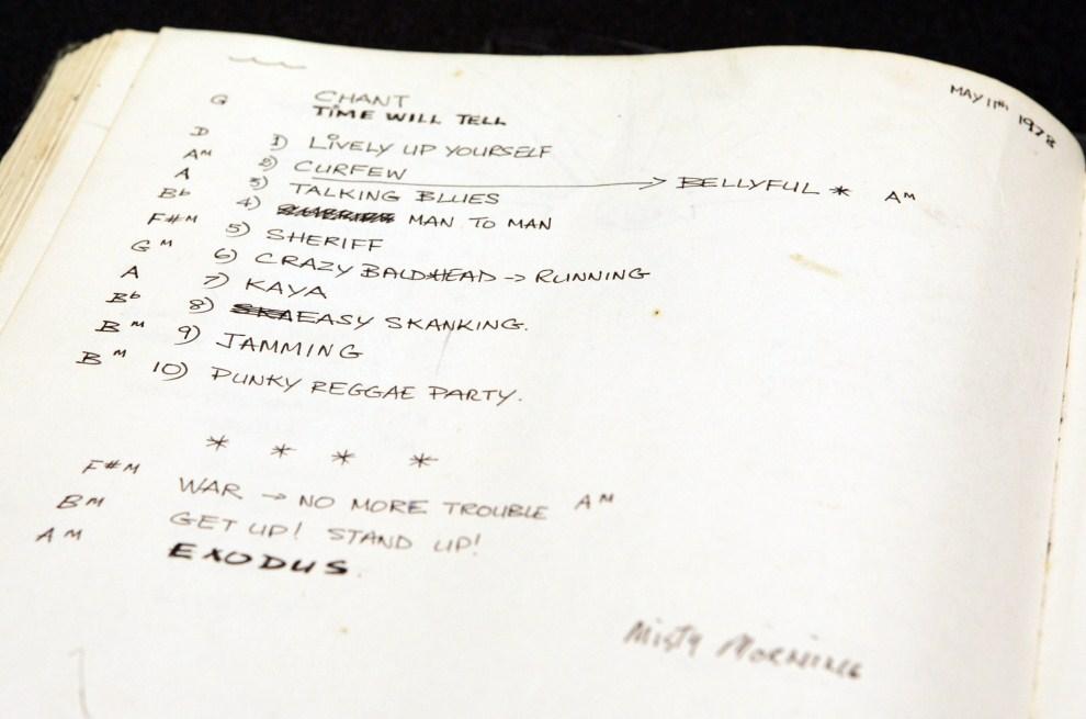2655 30 кадров в память о Бобе Марли