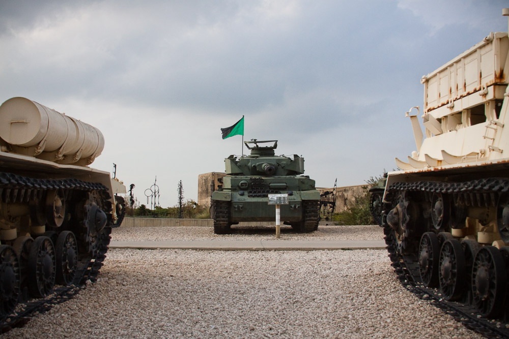 2670 Музей танковых войск в Израиле