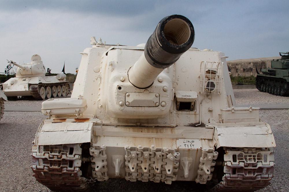 2766 Музей танковых войск в Израиле