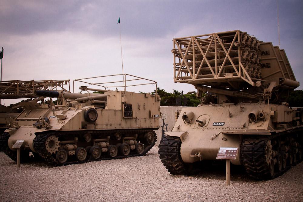 3058 Музей танковых войск в Израиле