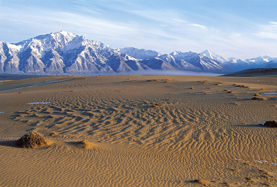 3104 Чарские пески: холодная Сахара Забайкалья