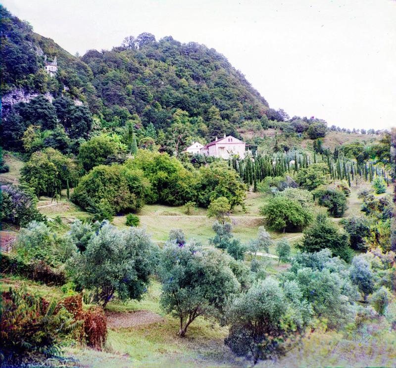 3270 Абхазия на цветных снимках Прокудина Горского 1904 и 1912 гг.