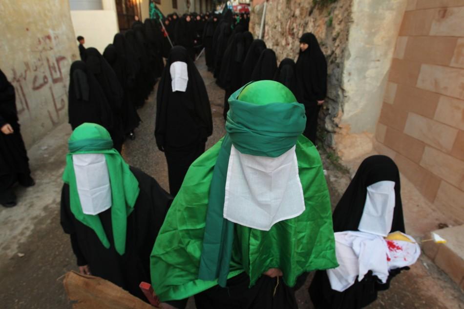 340 Шииты готовятся к Ашуре