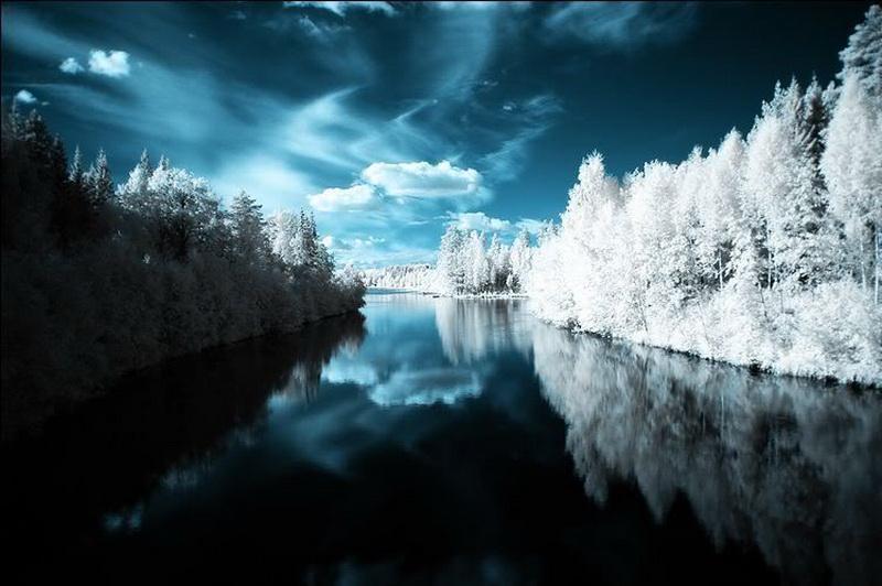 3535 Инфракрасная фотография