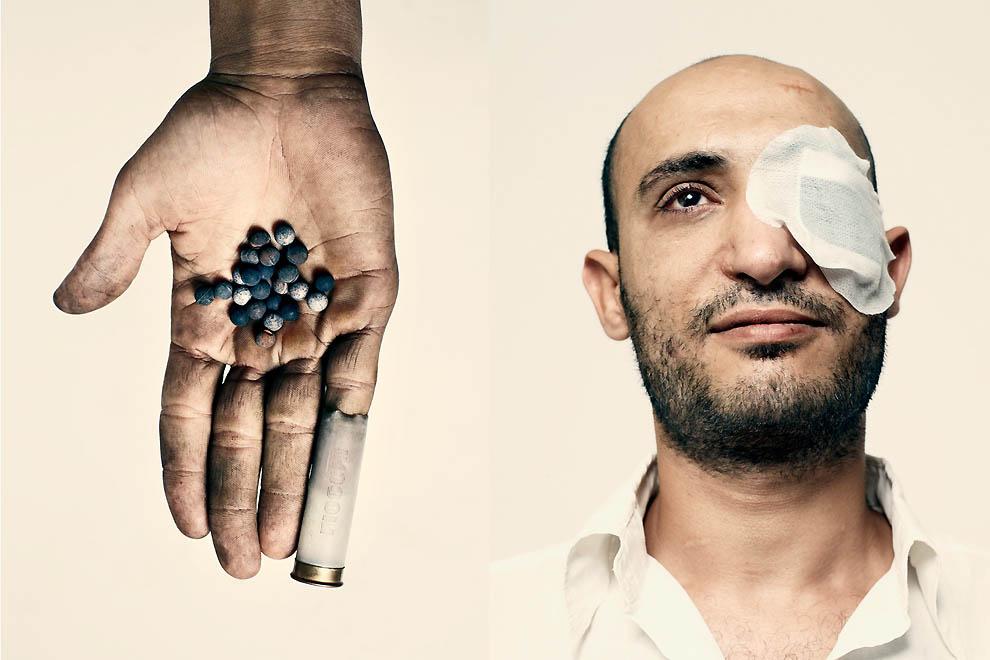 3624 Демонстранты со всего мира от фотографа Time Питера Хайпака