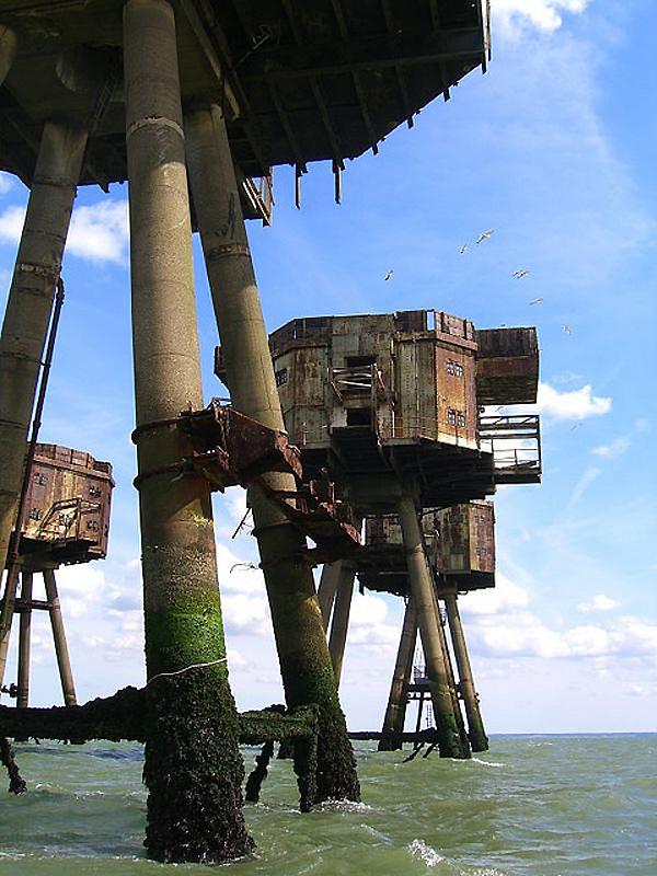 4166 Британские морские форты