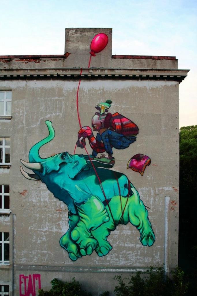 4420 50 лучших работ в жанре стрит арта 2011