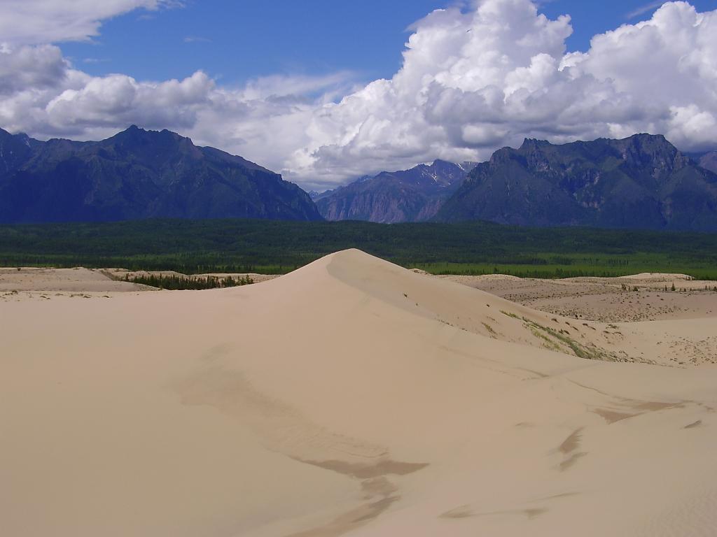 487 Чарские пески: холодная Сахара Забайкалья