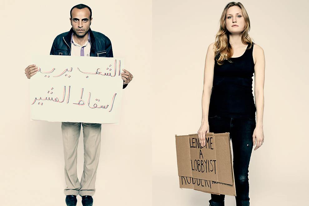 5108 Демонстранты со всего мира от фотографа Time Питера Хайпака