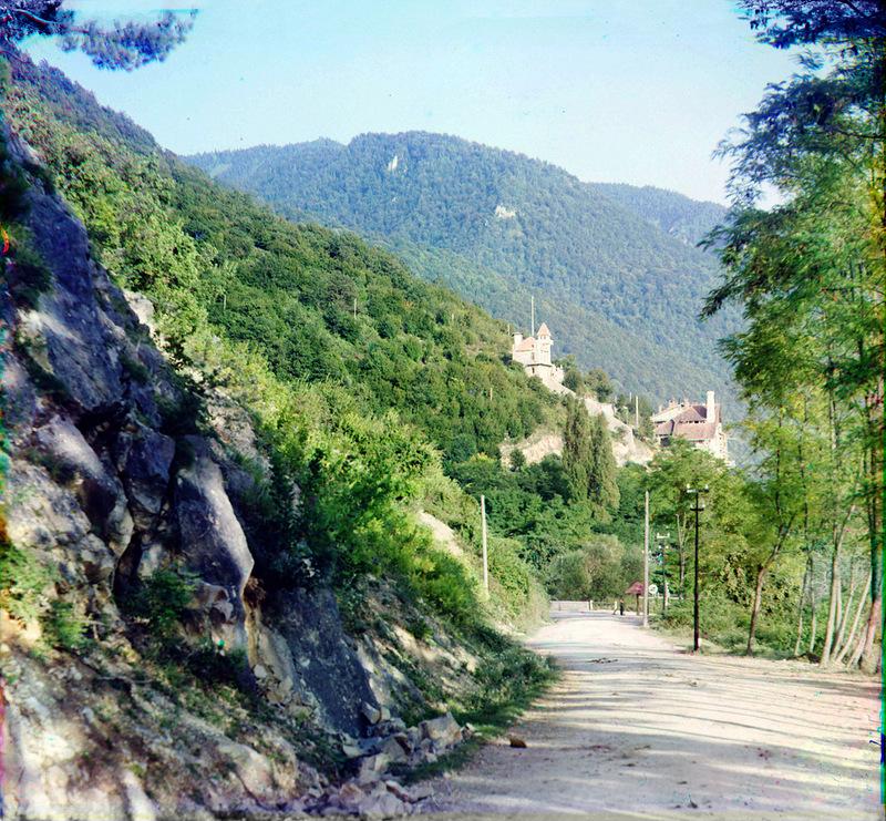5165 Абхазия на цветных снимках Прокудина Горского 1904 и 1912 гг.