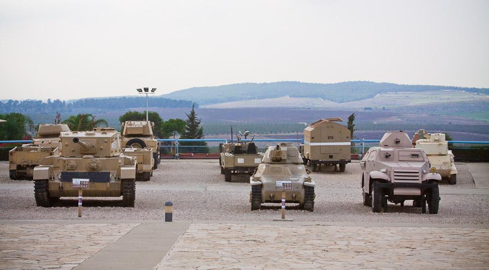 5177 Музей танковых войск в Израиле