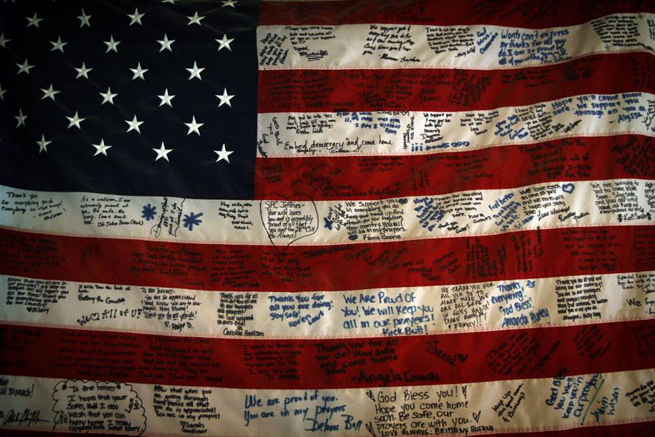 американский флаг на рабочий стол