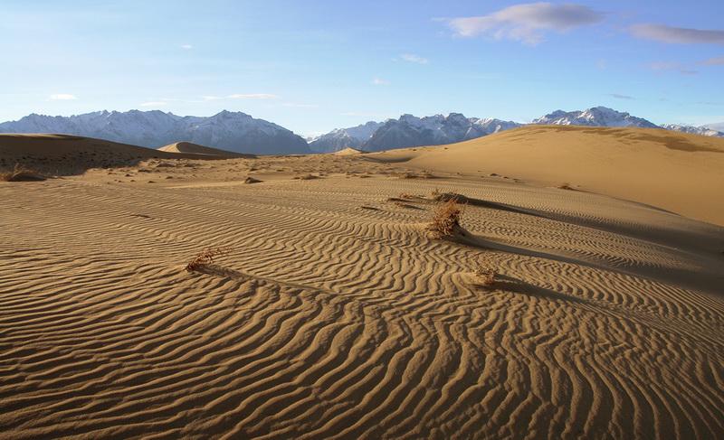 563 Чарские пески: холодная Сахара Забайкалья