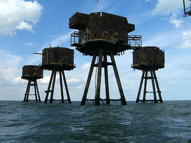 6109 Британские морские форты