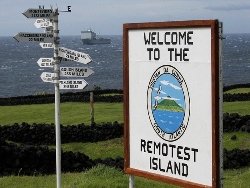 6139 Остров Тристан да Кунья: Жизнь в центре океана