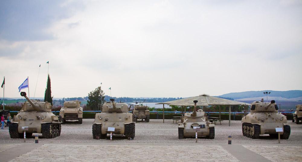 6161 Музей танковых войск в Израиле
